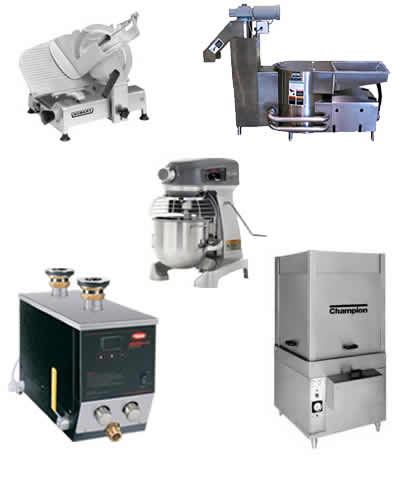 heater, compactor, dishwasher, dish dispensers